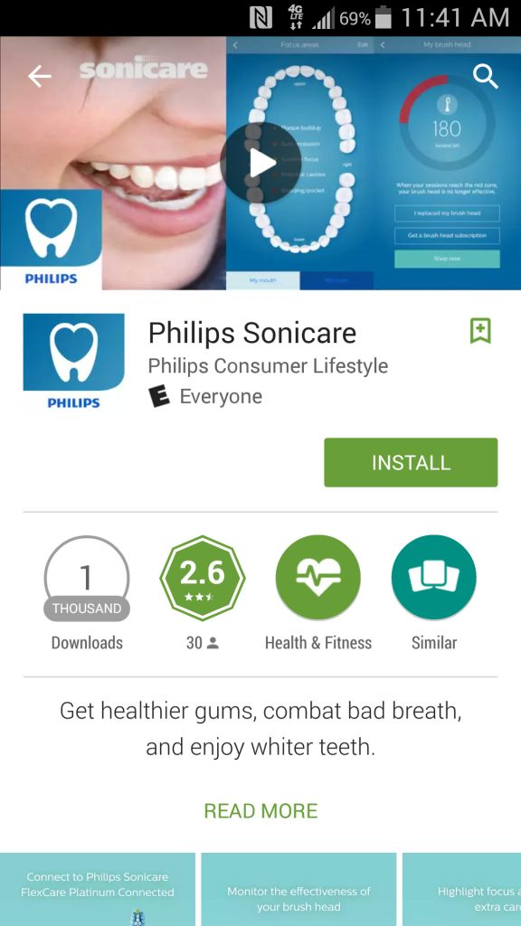 Philips Sonicare FlexCare Platinum Connected
