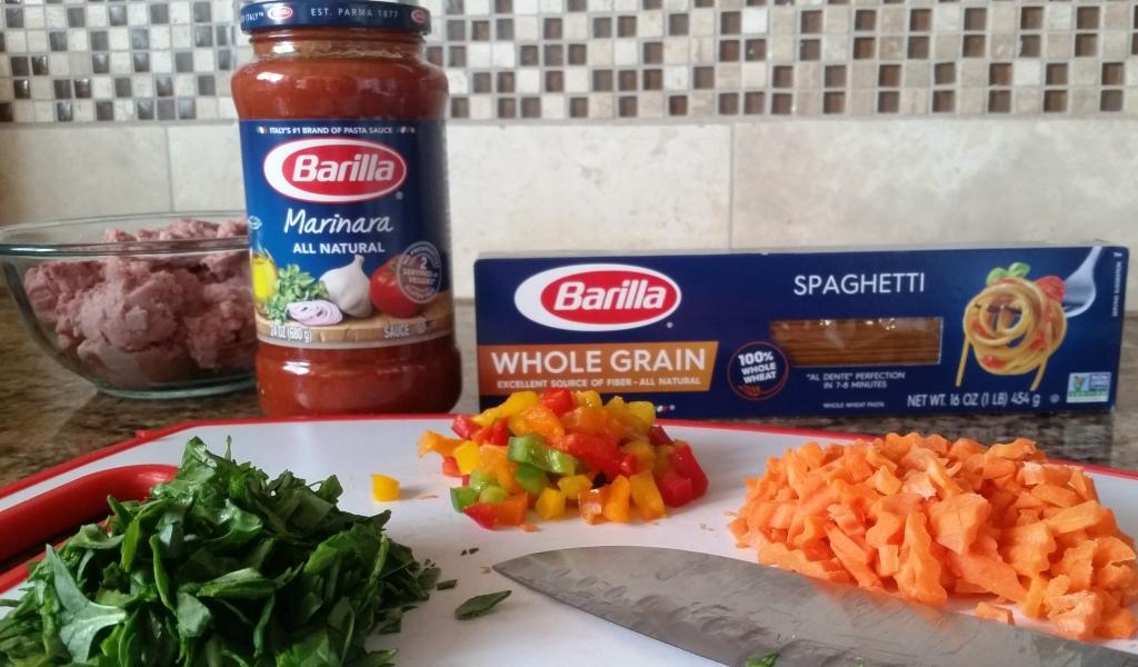 Spaghetti With Turkey & Veggie Meatballs – Wholesome, Delicious & Easy!