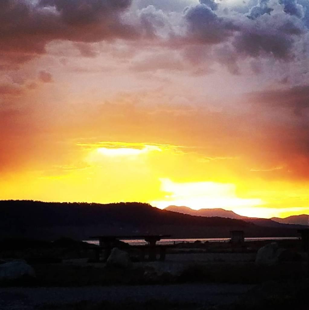 Colorado sunsets!  camping colorado 11mile
