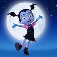 Disney Junior's Vampirina Coloring Sheets!