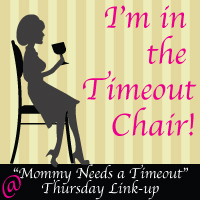 I got put in the Timeout<br />       Chair