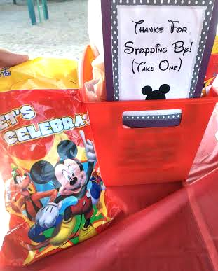 mickey mouse goodie bags