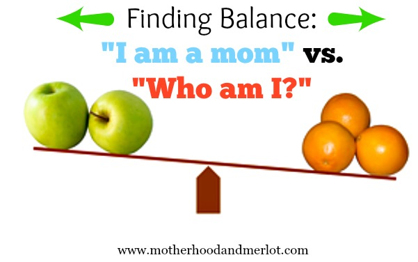 finding balance as a mom
