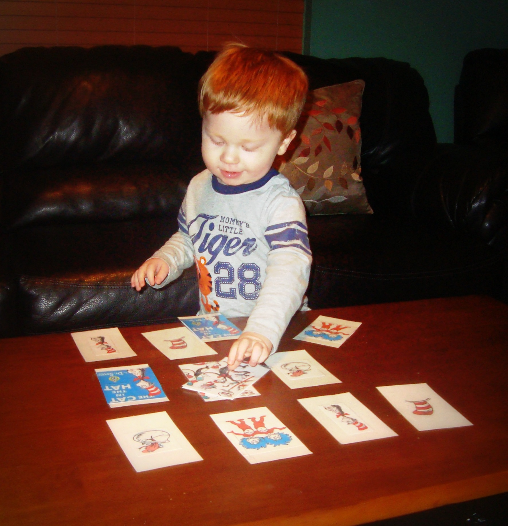 A Week Of Dr Seuss Cat In The Hat Matching Game