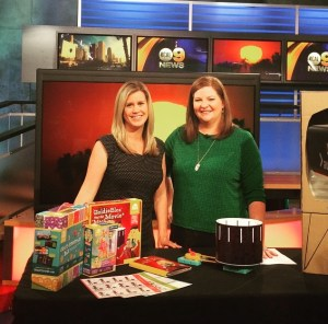 Heather and Louisa on KCAL9