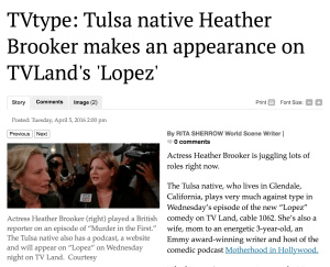 heather on tulsa world