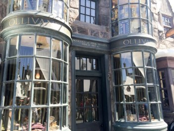 Ollivanders Wand Shop is a definite must