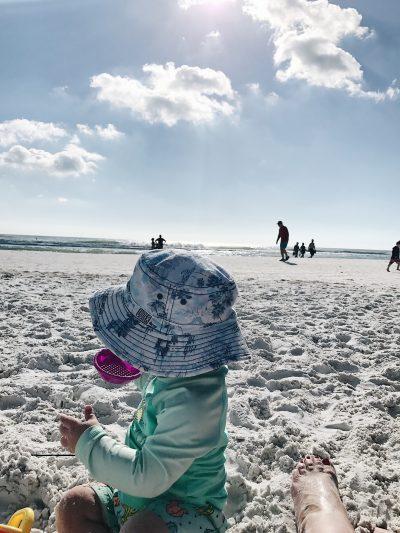 beach vacation baby