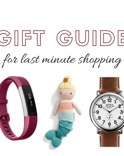 LAST MINUTE SHOPPING GUIDE