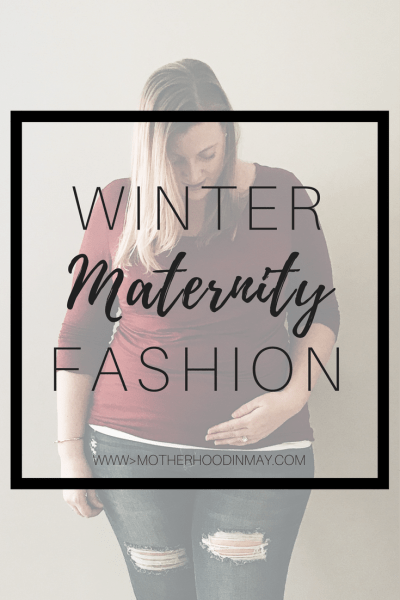 winter maternity fashion
