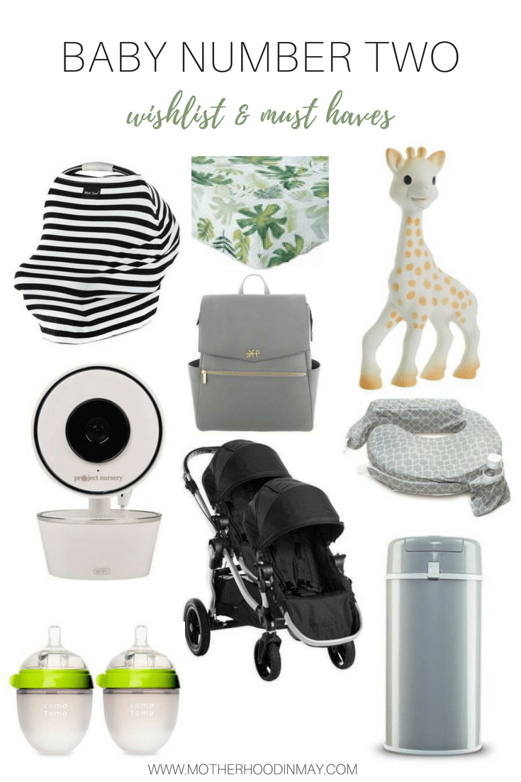 baby number two wishlist