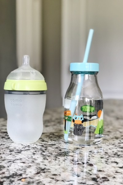 BYE-BYE BOTTLE; HOW TO TRANSITION BABY OFF A BOTTLE