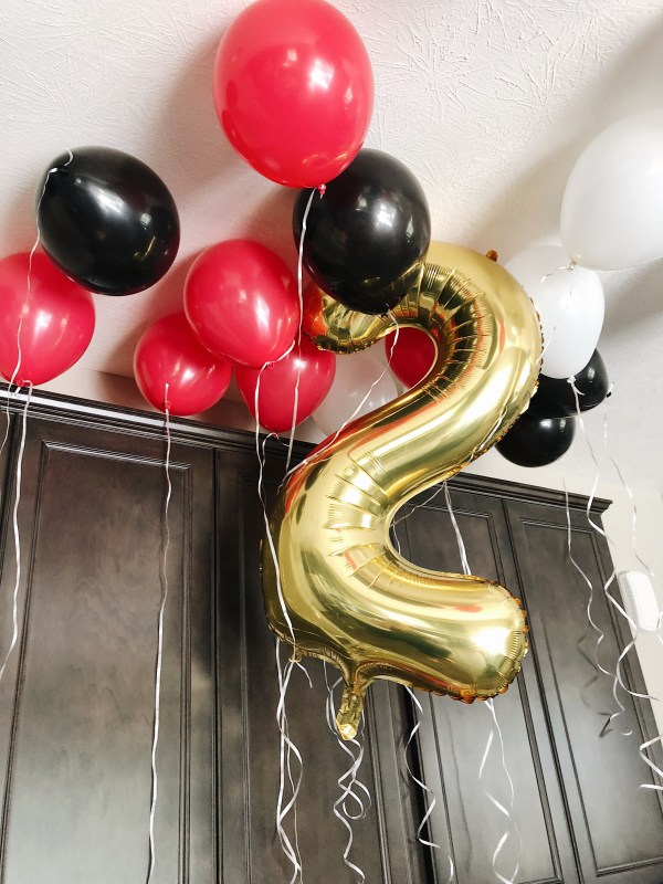 oliver turns two