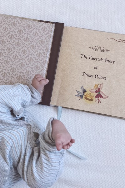 Fairytale Baby Book for My Sweet Elliott