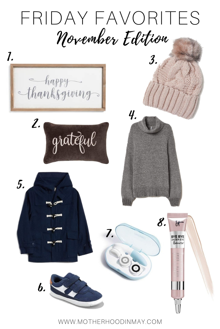 Friday Favorites    November Edition