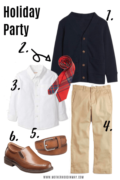 Back to School Outfits for Toddler Boys