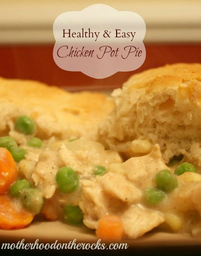 Biscuits Pie Canned Chicken Using Pot
