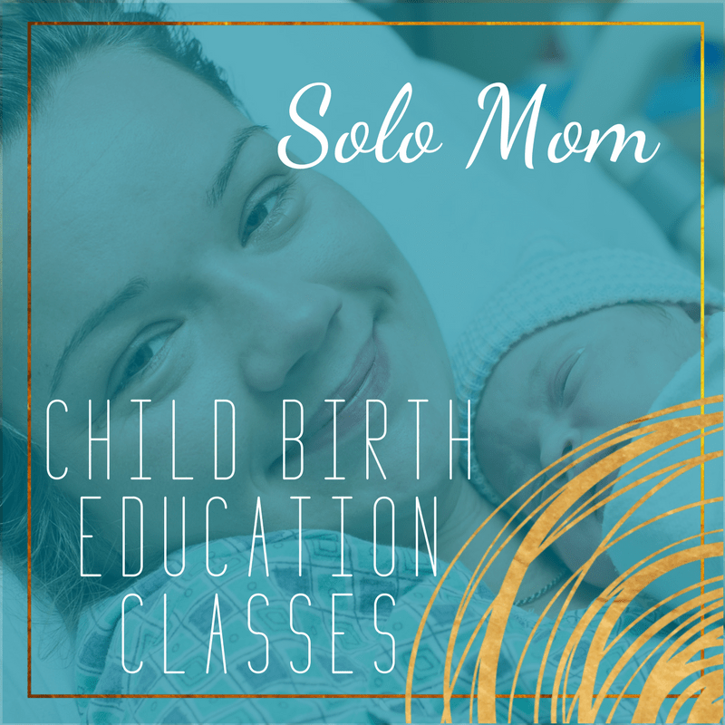 single mom childbirth education class