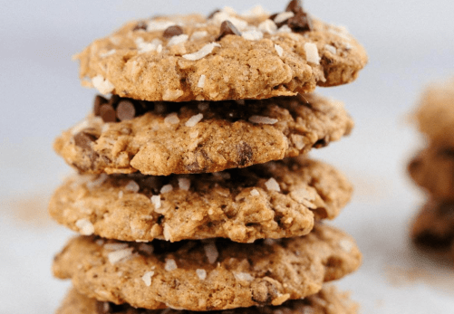 Oatmeal Chocolate Chip Coconut Lactation Cookies-jessicagavin.com