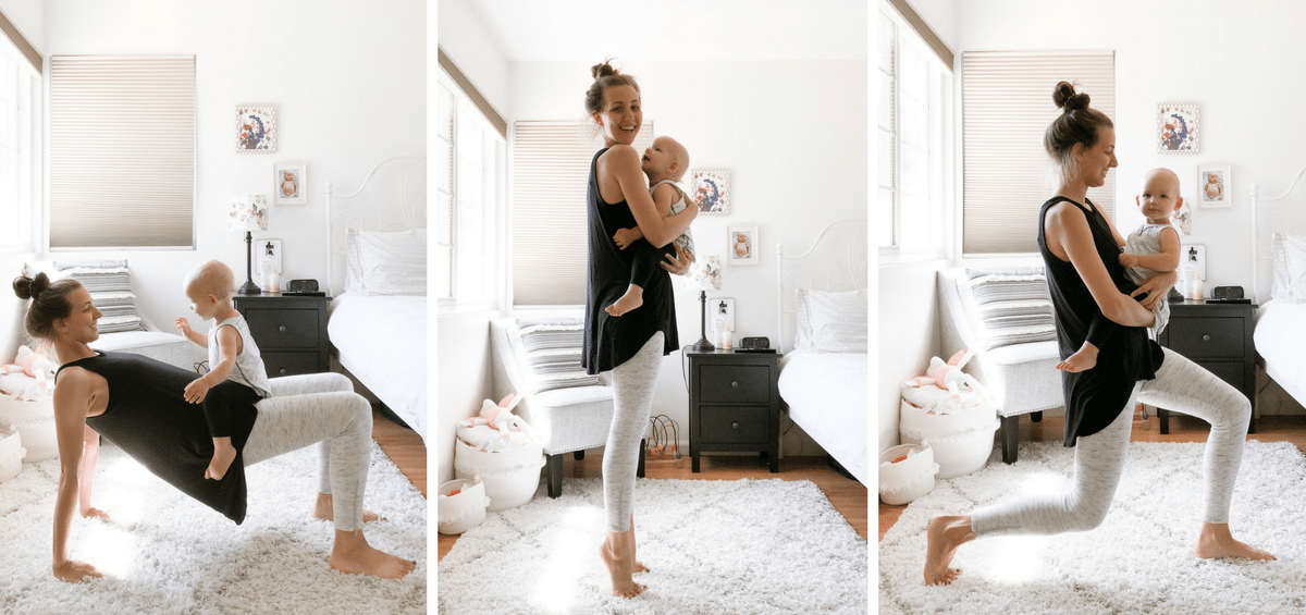 14 Easy Mommy & Me Exercises You'll Actually Do