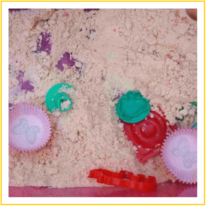 CLOUD DOUGH-20 OF THE BEST SUMMER ACTIVITIES FOR TODDLERS