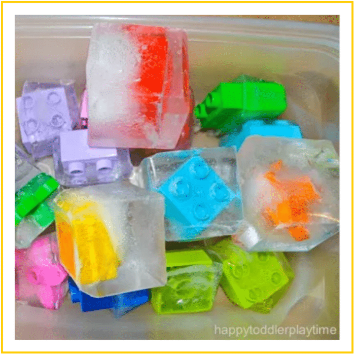 FROZEN LEGOS-20 OF THE BEST SUMMER ACTIVITIES FOR TODDLERS