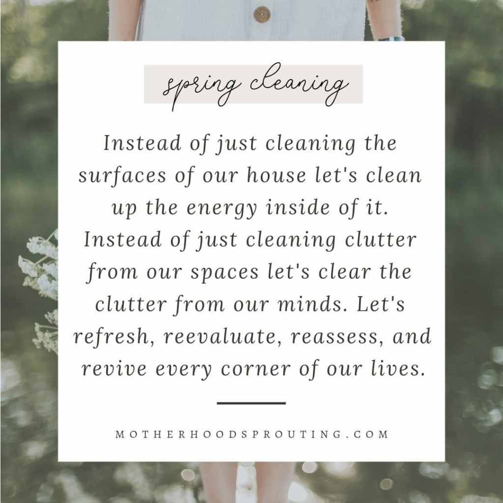 How to Spring Clean Your Life: A Guide for Moms