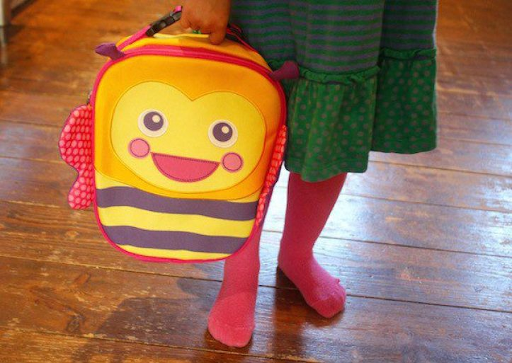 Toddler bumble bee pack lunch bag