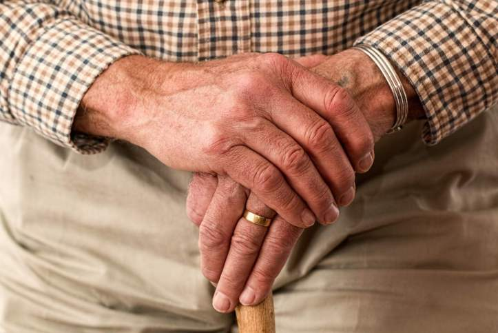 elderly relatives during winter
