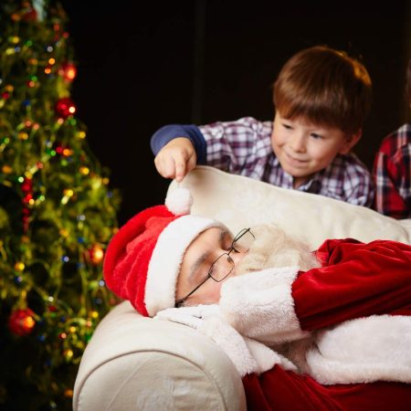 How to get your kids to sleep on Christmas Eve