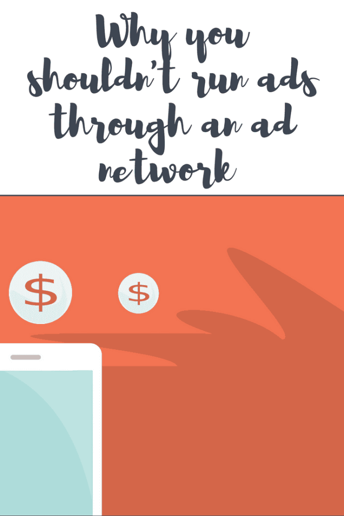 Why you shouldn't bother running ads on your blog through an ad network