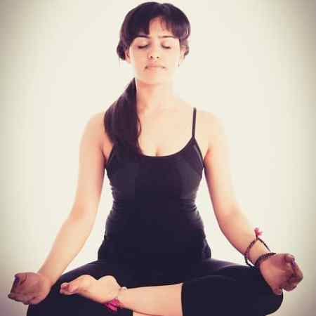 overcome anxiety through yoga