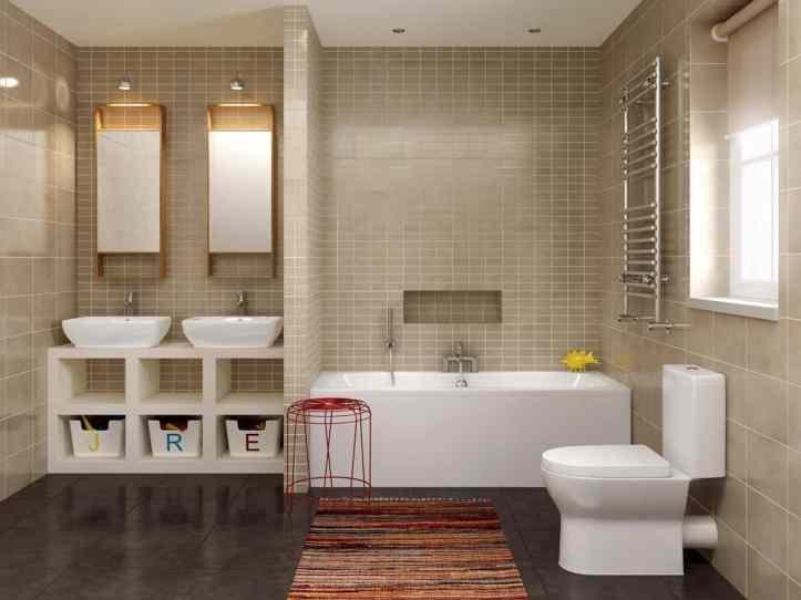 perfect family bathroom