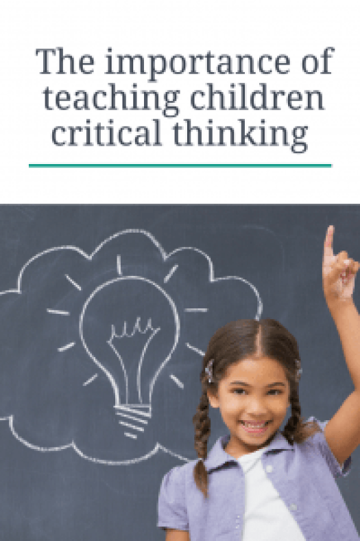 The importance of teaching critical thinking to children