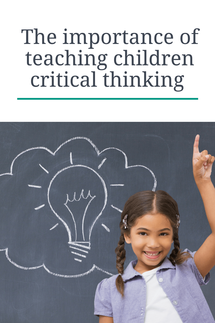 the value of critical thinking This article demonstrates the value and use the brainstorming half is mainly concerned with the synthesis aspect of critical thinking while the critical.