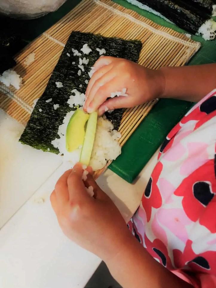 YO! Sushi Mini Ninja Sushi School review