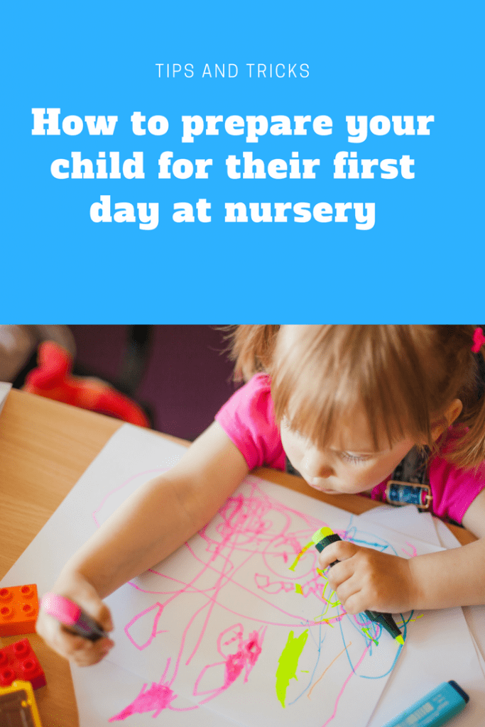 How to prepare your child for their first day at nursery