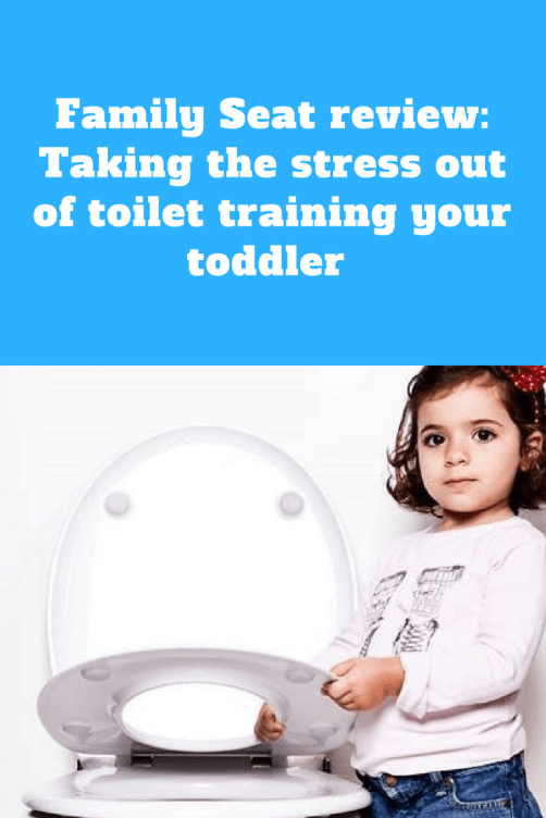 Family Seat review: Taking the stress out of toilet training your toddler + 15% discount!