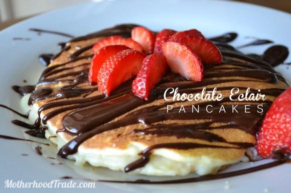 chocolate eclair pancake recipe
