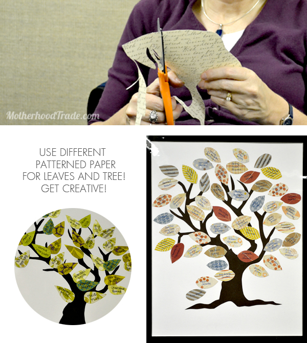 create-a-family-tree-with-patterned-paper