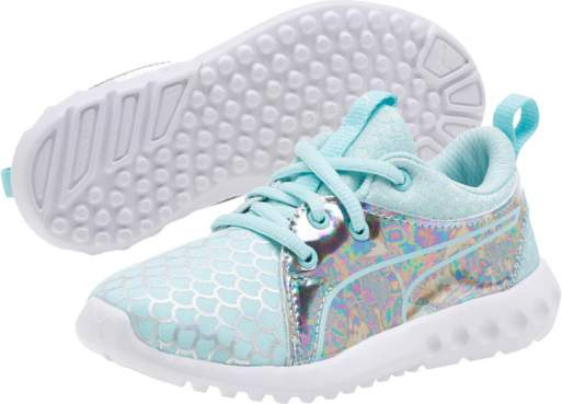 Girls Mermaid Tennis Shoes