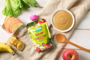 commercial baby food