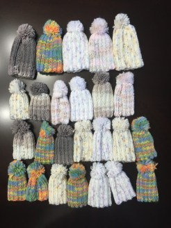 Crochet hats for early pregnancy loss babies