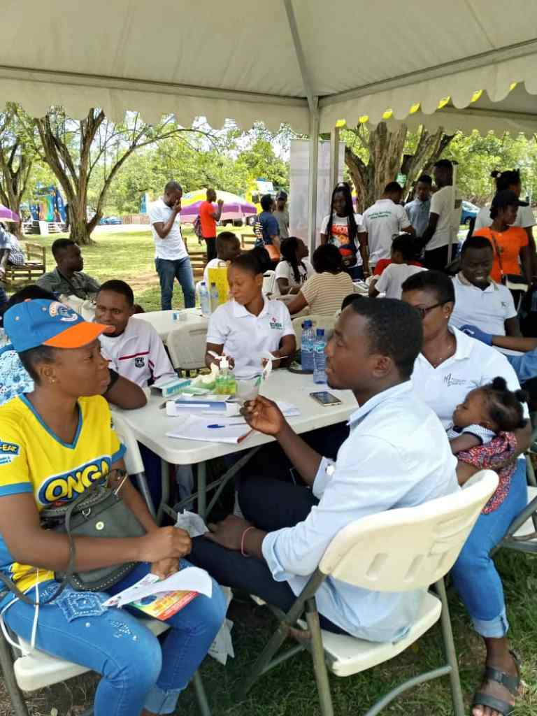 Promasido Company 20th anniversary, Dental screening Outreach at Legon Botanical Garden