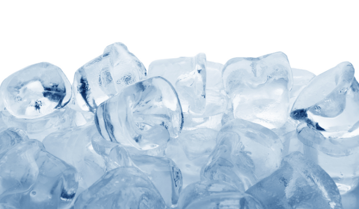 """Using ice to """"burn"""" the skin is an effective alternative coping mechanism to self harming behavior"""
