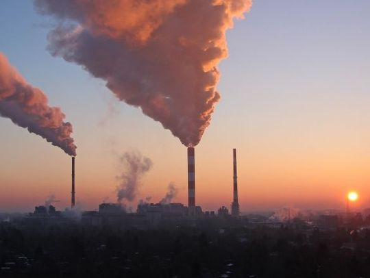 The burning of fossil fuels such as oil, gas and coal