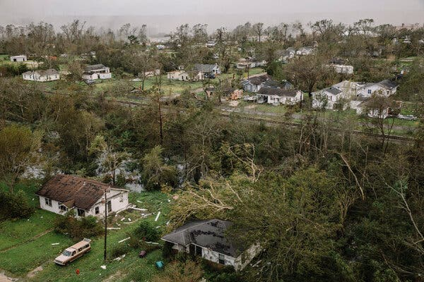 Several powerful storms have already hit Louisiana this year, including Hurricane Laura, which caused heavy damage across the state.