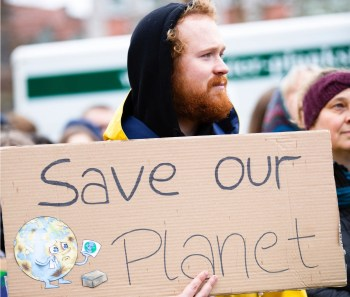 save planet protest