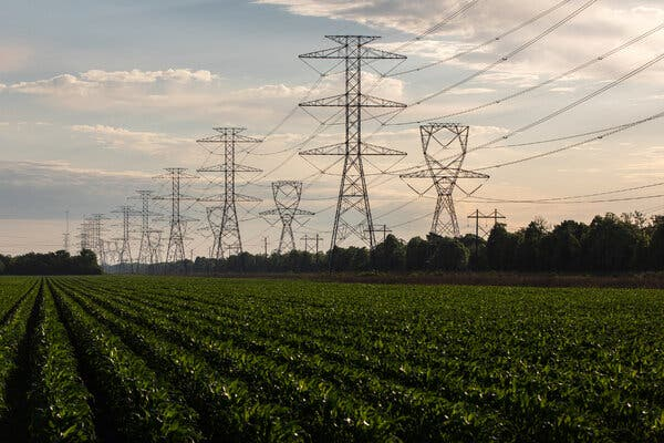 The $73 billion being provided to modernize the nation's electricity grid is the single largest federal investment in power transmission in history.