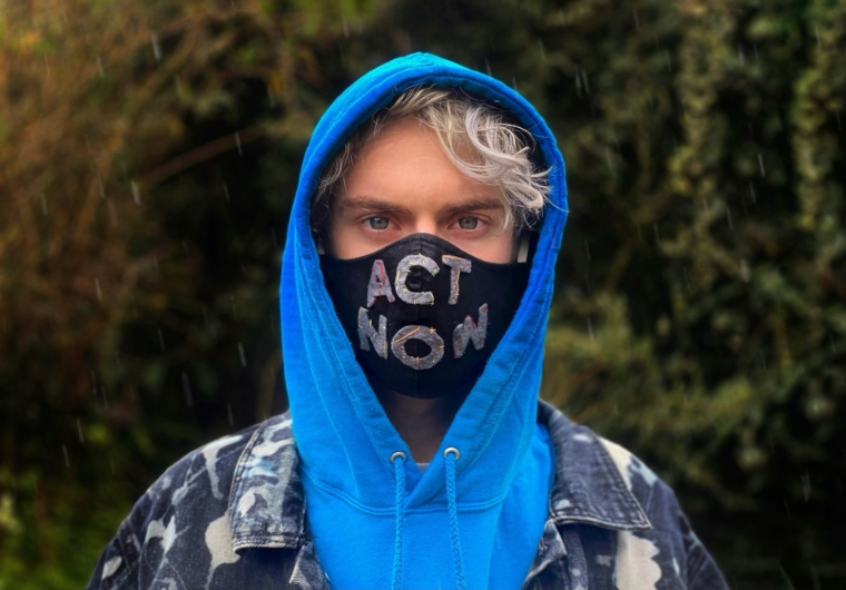 Elijah Mckenzie-Jackson, 17, says he's frightened to think about his future due to the climate crisis (Photo: Elijah Mckenzie-Jackson)